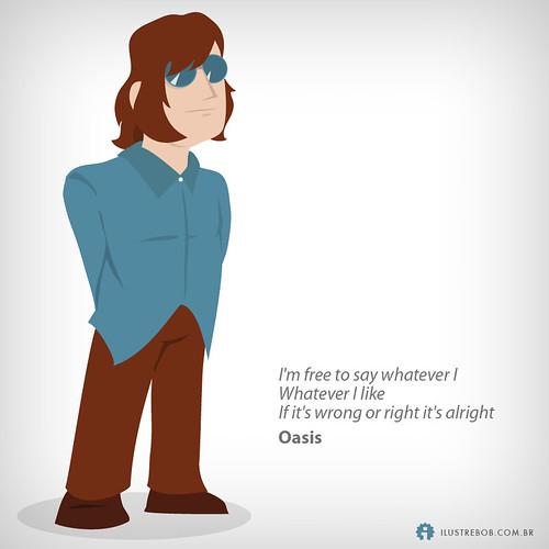 Oasis • Qual é a música?