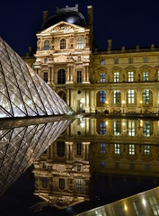 Louvre, (judju75) Tags: paris reflections nikon louvre d3100 yahoo:yourpictures=reflections yahoo:yourpictures=europeanmonuments yahoo:yourpictures=waterv2