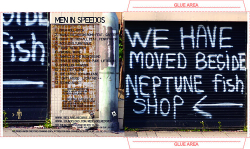 Men In Speedos : We Have Moved Beside Neptune Fish Shop