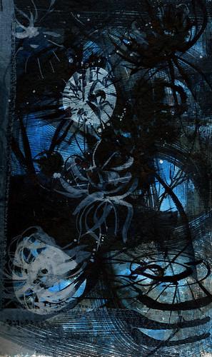black-blue-pods