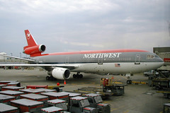 Northwest DC-10 N225NW (chrisjake1) Tags: northwest aircraft airplanes dtw northwestairlines dc10 mcdonnelldouglas kdtw n225nw