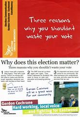 Liberal Democrats Scottish Election Leaflet, 2011 (Scottish Political Archive) Tags: scotland election glasgow scottish publicity campaign democrat liberal eastwood cochrane 2011