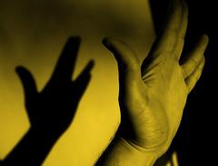 172 | 365 (Randomographer) Tags: sign yellow trek star hand fingers human vulcan processed selfie livelongandprosper 365days randomographer