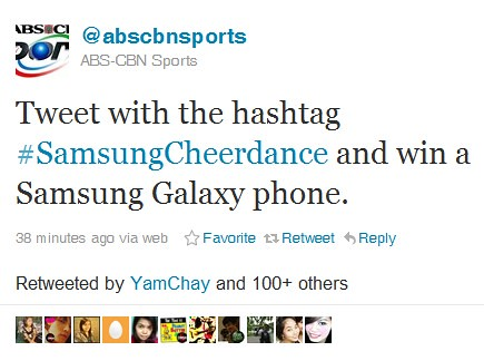 samsung cheerdance