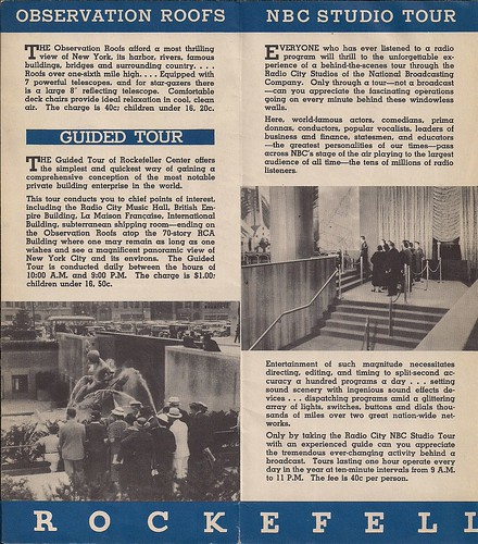 1940's Era Rockefeller Center-Radio City Brochure0004