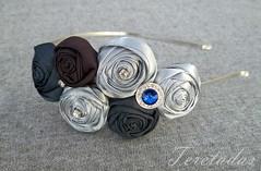 D.rosas tela ART 1a (Teretadas) Tags: handmade diadema headband hechoamano diademas fabricroses accesoriosparaelcabello rosadetela