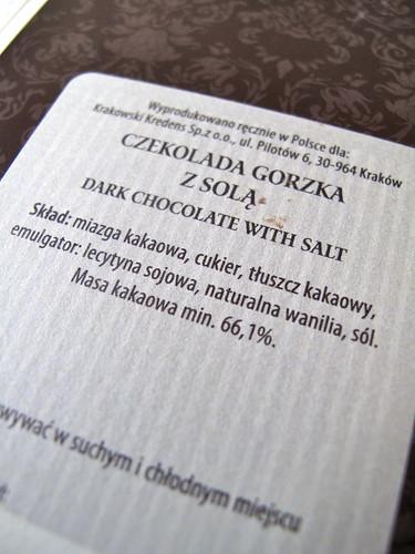 Krakowski Kredens Chocolate, Poland