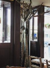 Tree Sculpture, Baron Cadogan(2) (karenblakeman) Tags: uk sculpture tree pub september caversham 2011 jdwetherspoon baroncadogan