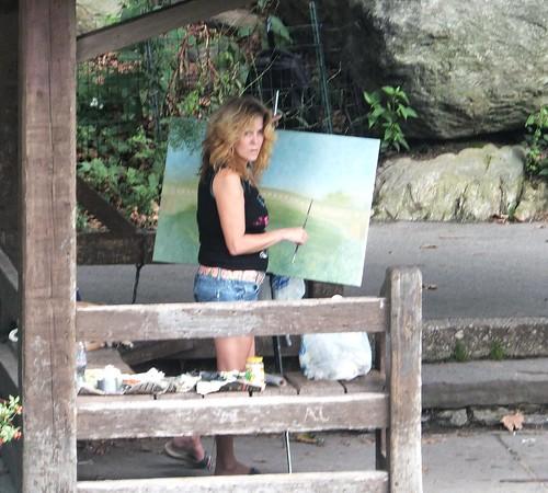 schilderen (Central Park)