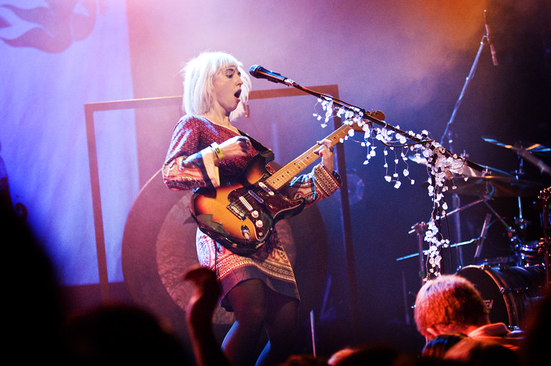 Ritzy Bryan of Joy Formidable