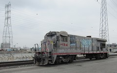 LA River: UnionPacific 1277a (DB's travels) Tags: california railroad abandoned up losangeles unionpacific tempcrr