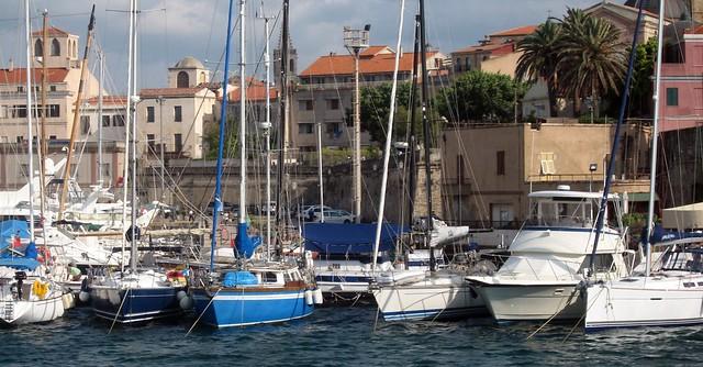 Alghero harbour