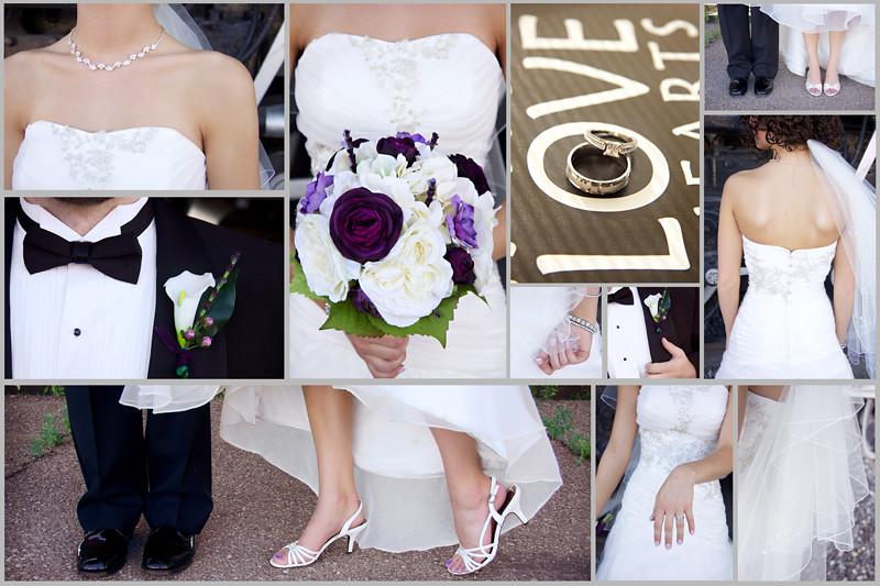 Bride and Groom Details