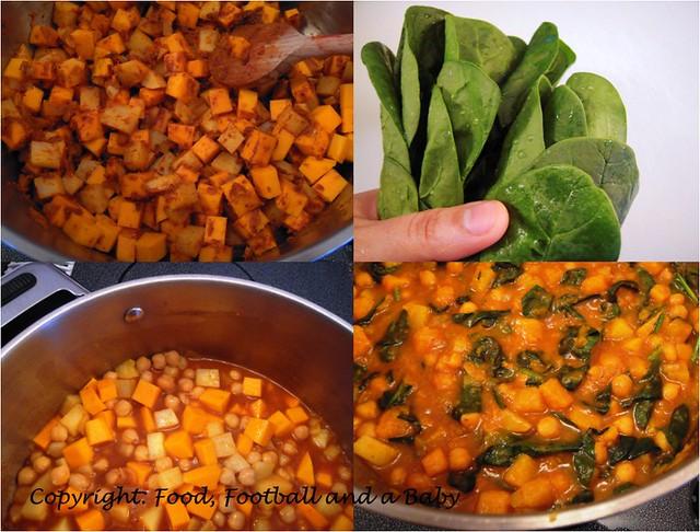 Chickpea Squash Stew