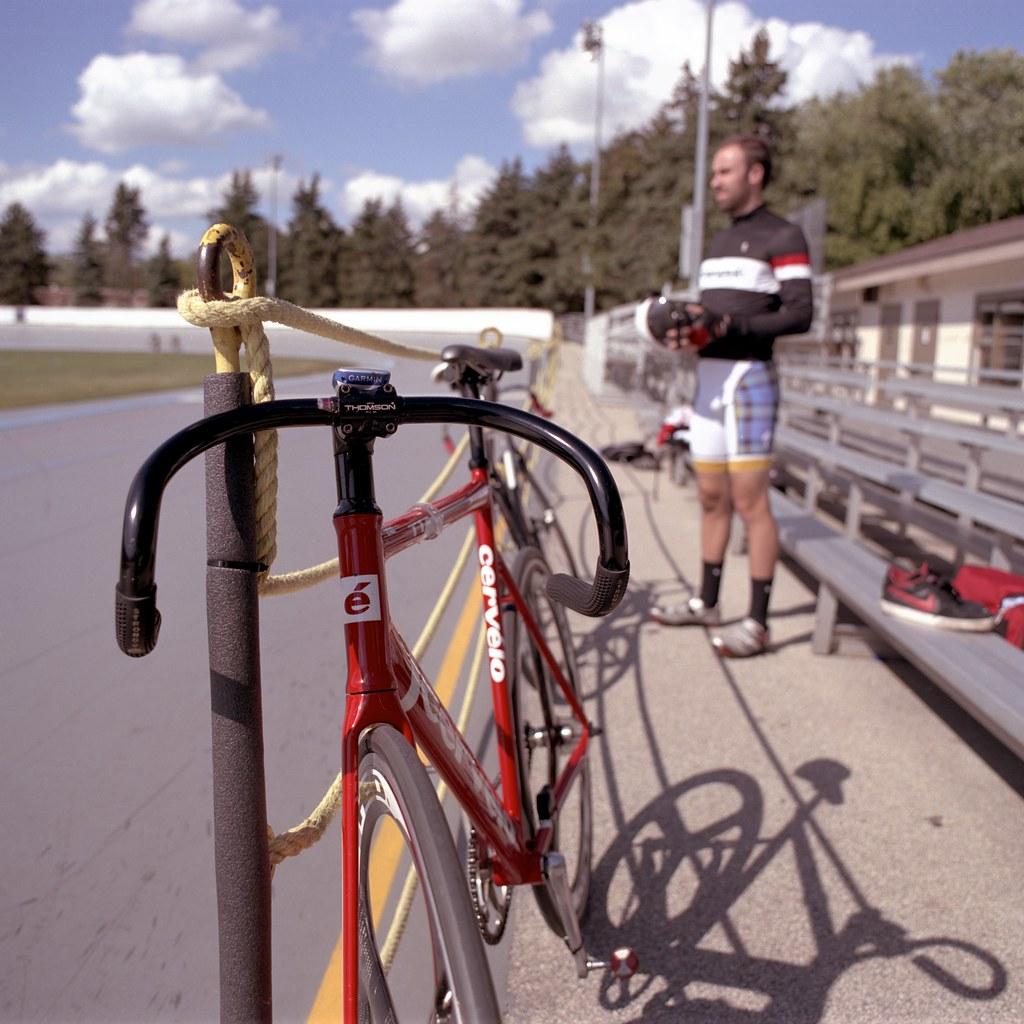 Track bike bars