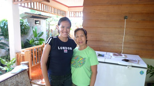 With Ms. Beth Ramos, owner of Cresing's Food Products