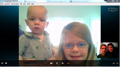 Skype with kids