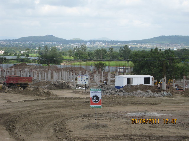 Construction of 3 BHK Row Houses & 4 BHK Twin Bungalows has began!