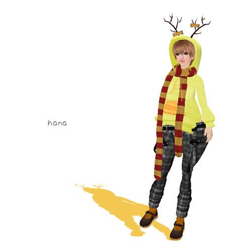 """*RibboN* Group gift """" Twig hoodie """""""