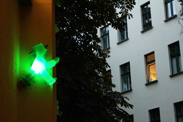 ampelmann lighting the way to the ampelmann store