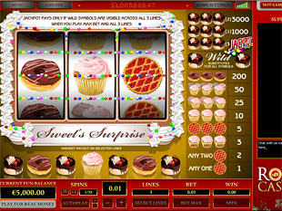 Sweet's Surprise 3 Lines slot game online review