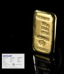 100g Gold Bar at Bullion By Post (Bullion By Post) Tags: gold bullion goldbar goldbars buygold goldbullion goldprice bullionbypost