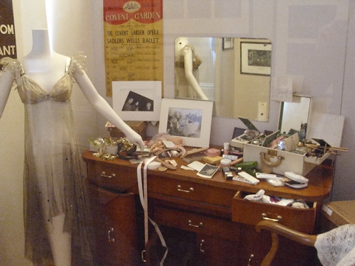 Recreation of Margot's Fonteyn's dressing room © ROH 2011