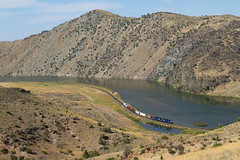 Little Train, Big Scenery (MRL 390) Tags: train scenery montana local localtrain lombard mrl helenamontana shorttrain montanaraillink lombardmontana helenalocal lombardcanyon