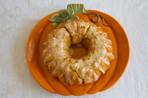 Pumpkin Monkey Bread - 8