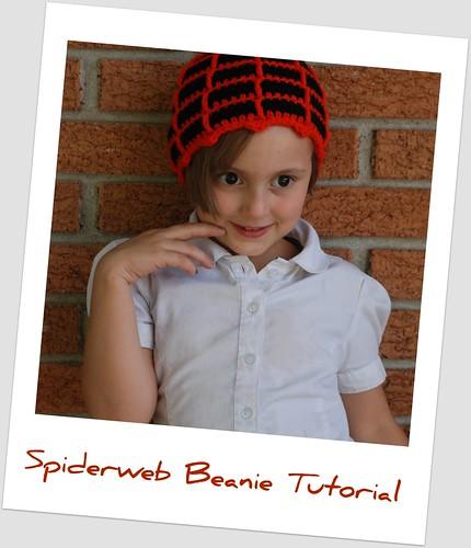 Its Just Jennifer Spiderweb Beanie Pattern