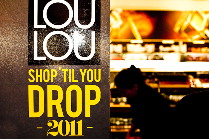 LOULOU Magazine Shop 'Til You Drop @ Sephora, Bloor St. W., Toronto