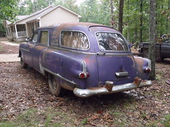 011 (stevenbr549) Tags: purple engine 8 ambulance cylinder series inline 51 300 24th hearse combination packard 1951 comercial 327 henney endloader