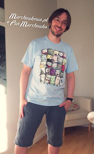 blog, marchewkowa, pan marchewka, koszulka, T-shirt, Threadless, Books, książki