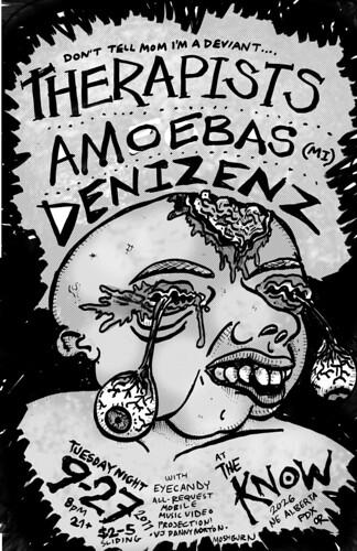 9/27/11 Therapists/Amoebas/Denizenz