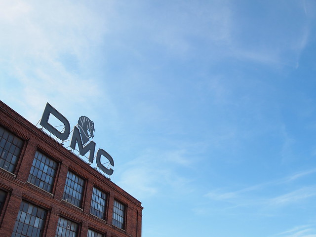 Visiting the DMC factory