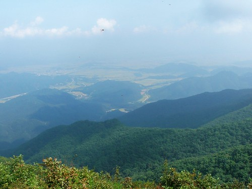 Picture from Goedaesan Mountain, South Korea
