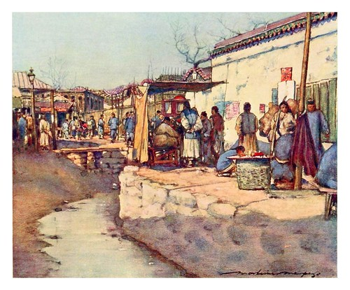 015- Camino al mercado-China 1909- Mortimer Menpes