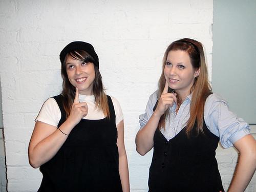 Rebecca and Kristin