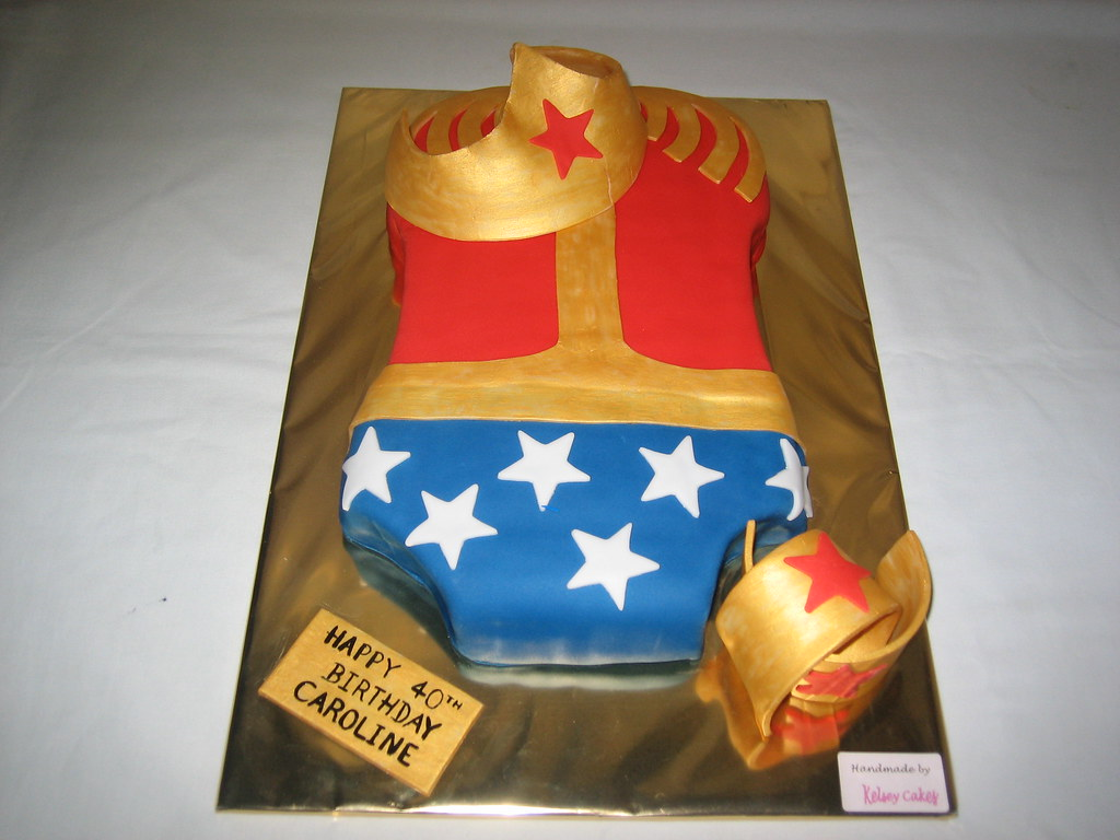The World s Best s of cake and wonderwoman Flickr