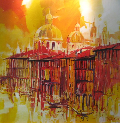 Venice in Gold   Painting - Original