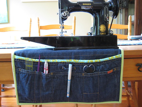 Denim Sewing Control Centre!