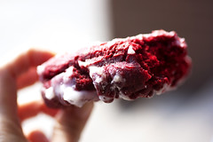 red velvet @ donut pub