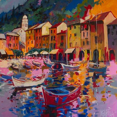 Cadaques City of Pescadores - Painting - Modern Impressionism