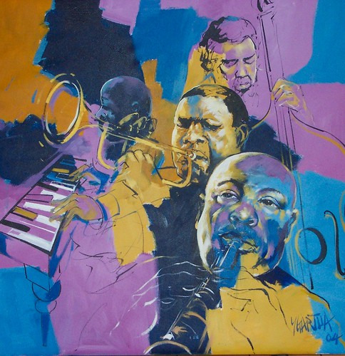 Jazz Tonight - Painting