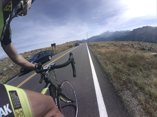 120 mile ride - Ft Collins to Trail Ridge to Fort Collins
