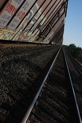 The Blind Side (All Seeing) Tags: railroad yards yard vanishingpoint n container network boxcar dtc wh kyt