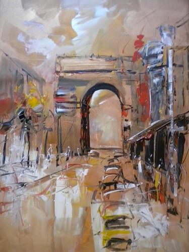 Arc de Triumph - Painting - Impressionistic