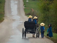Going to School (cindy47452) Tags: road horse kids rural children country lifestyle indiana amish orangecounty buggy absolutegoldenmasterpiece virgiliocompany plainfolks