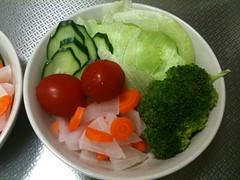 朝食サラダ(2011/9/26)
