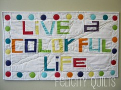 Live A Colorful Life - Front